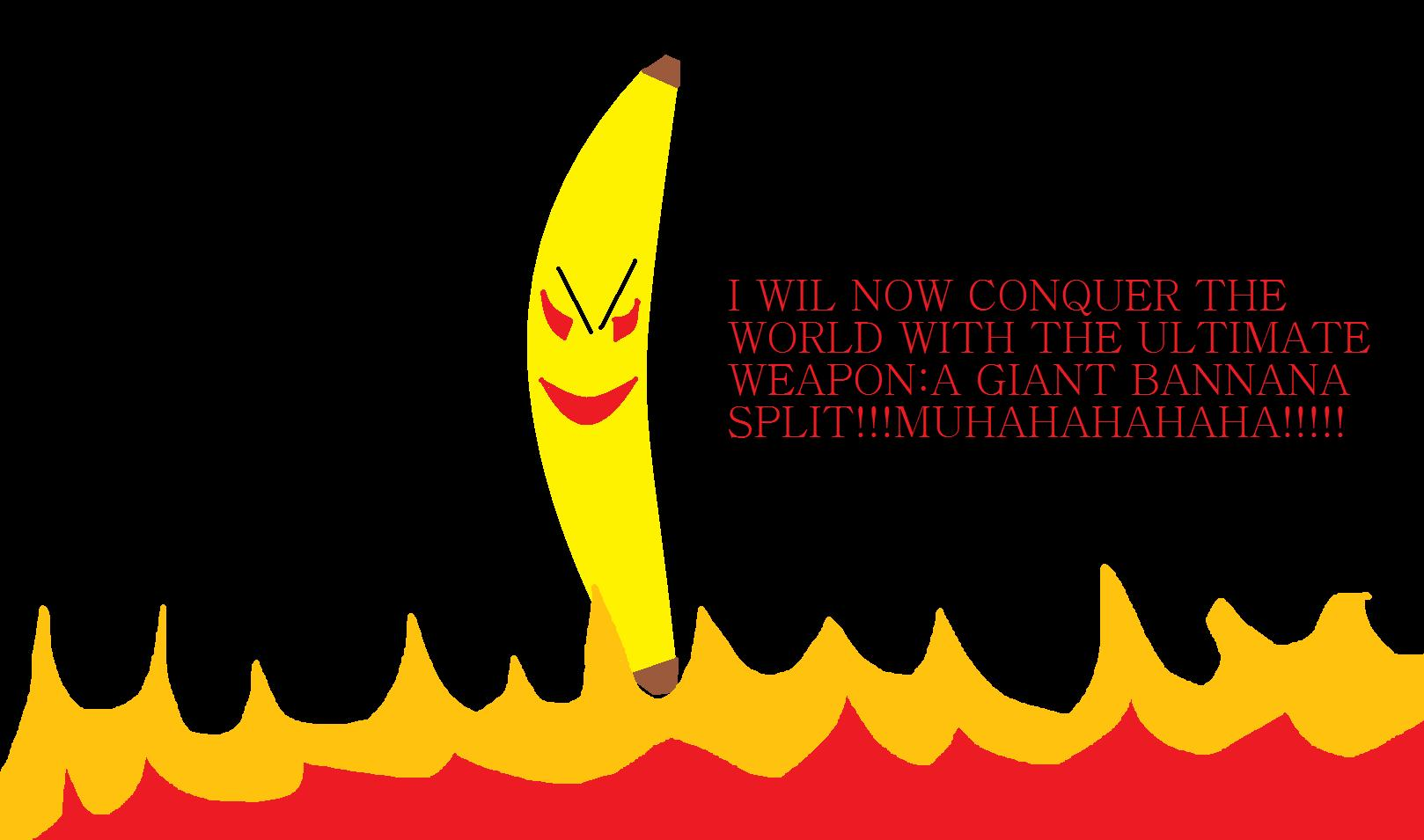 the evil banana