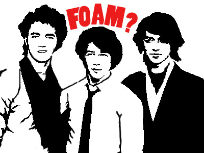 Jonas Bros. Foam