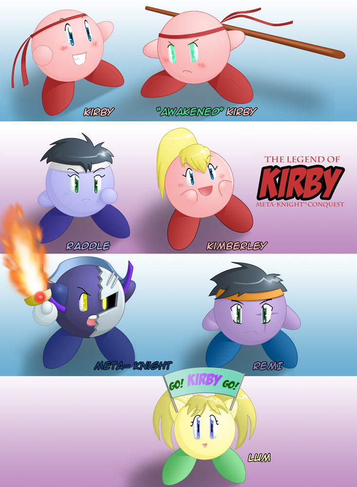 The legend of Kirby