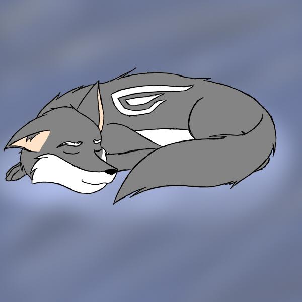 Hajime sleeping