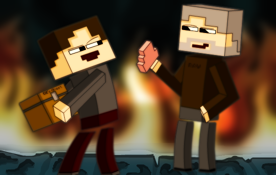 Jake & EiE in the Nether