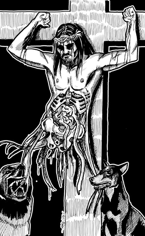 Drink my blood, eat my flesh