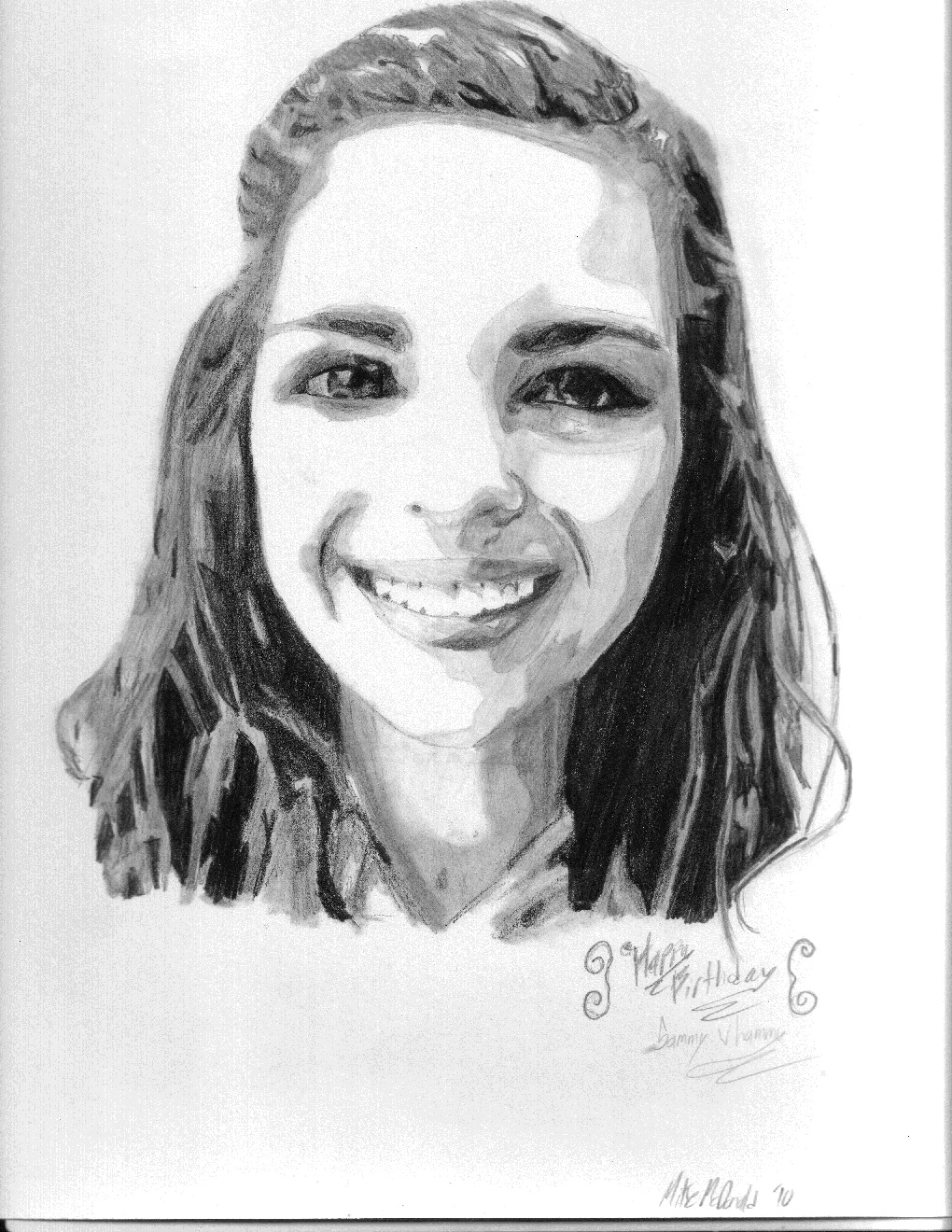 Sammy Portrait (For her b-day)