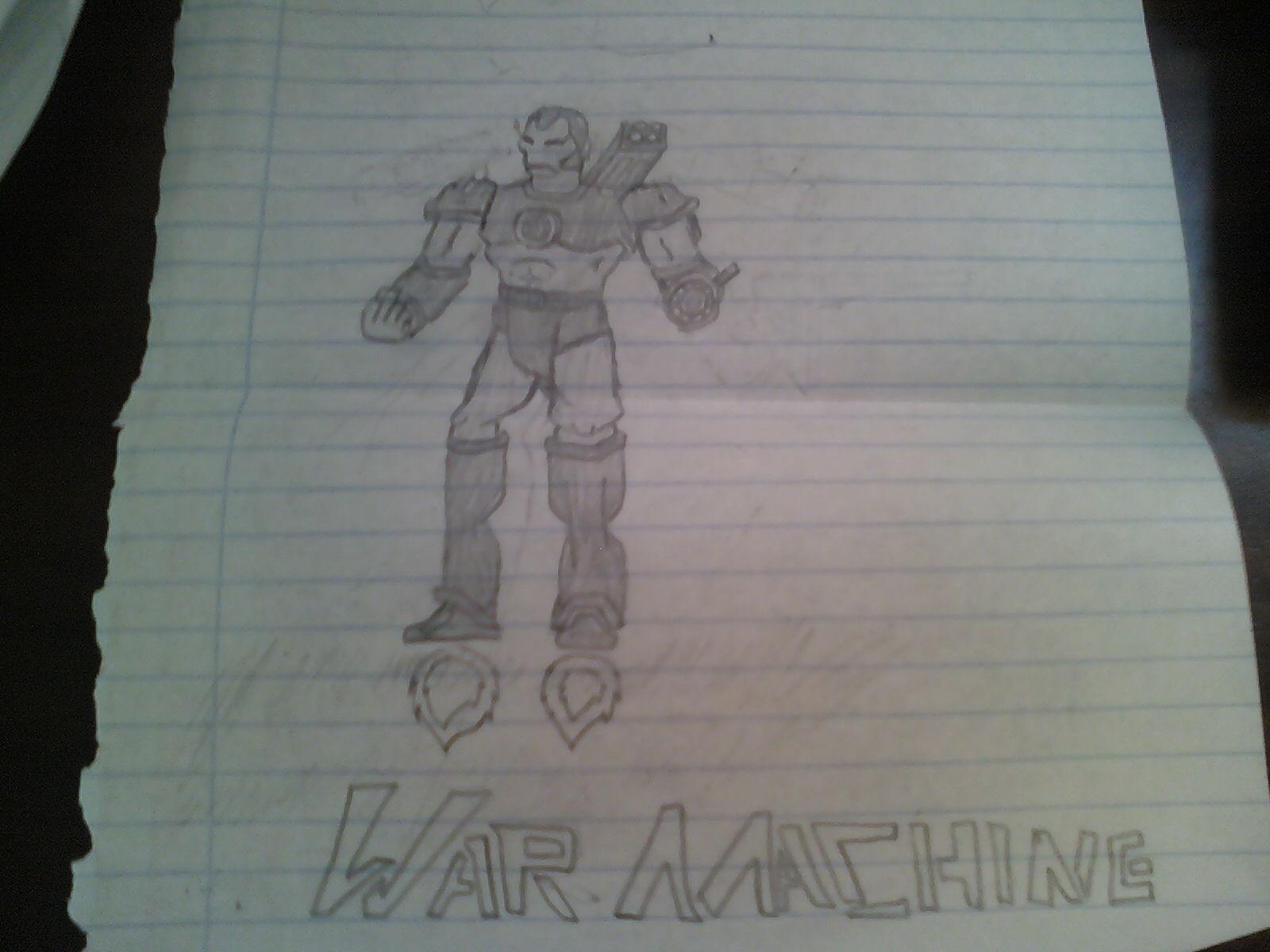 WAR MACHINE (new ver)