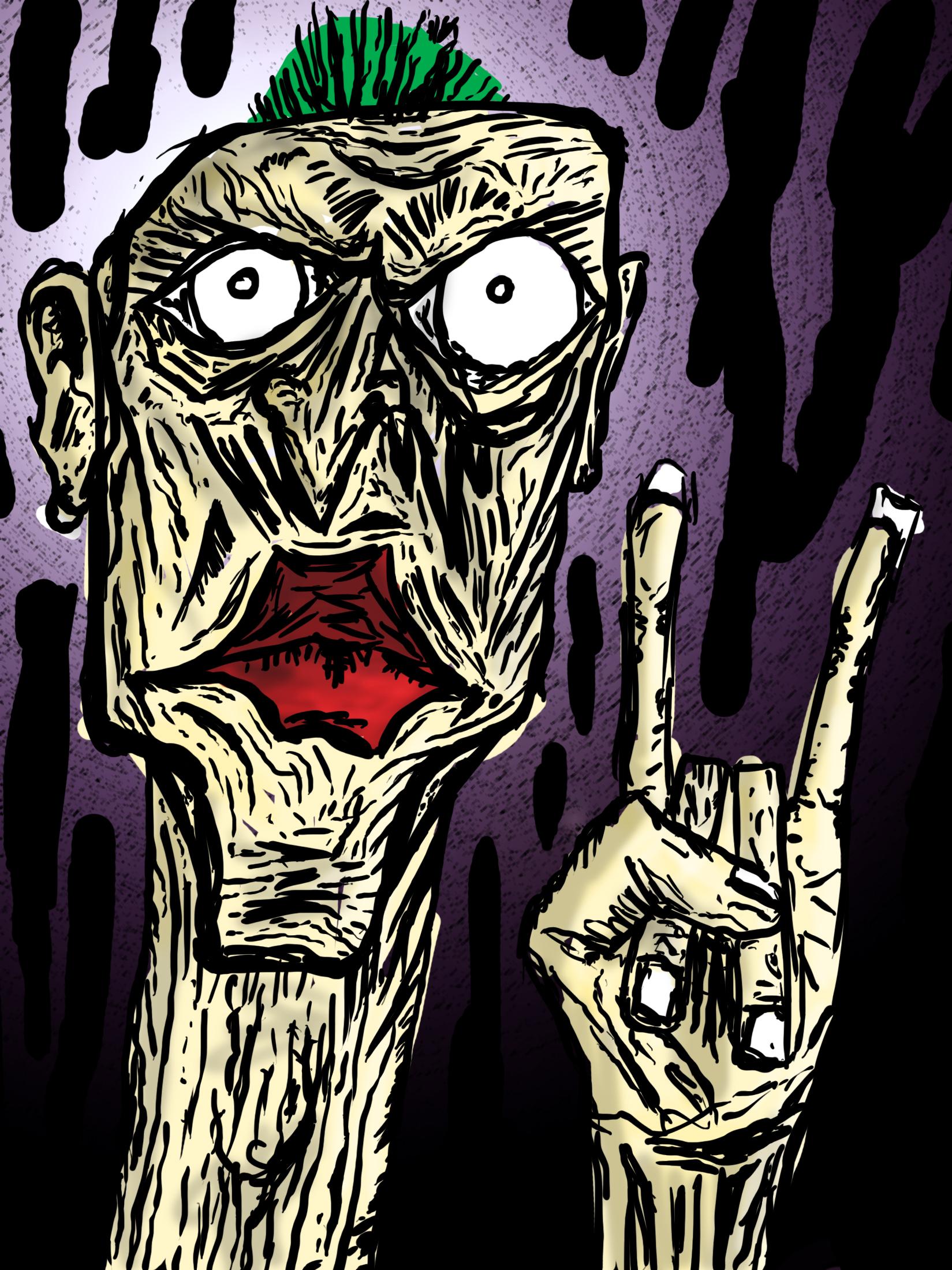 punk rock duude
