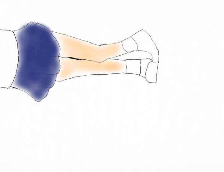 lower body~