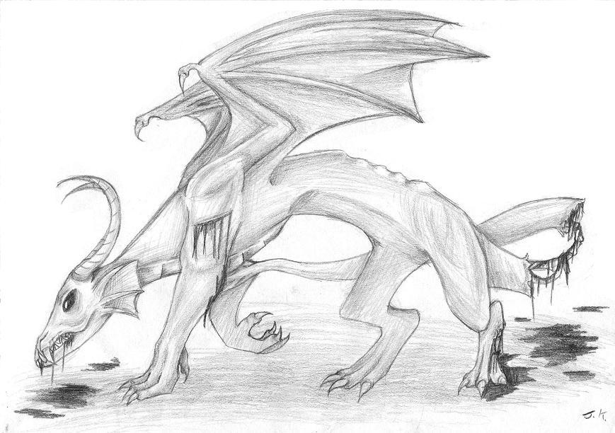 Zombie Dragon