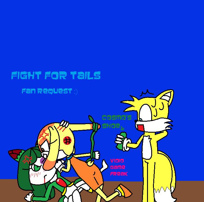 seedrain and rabbit fight