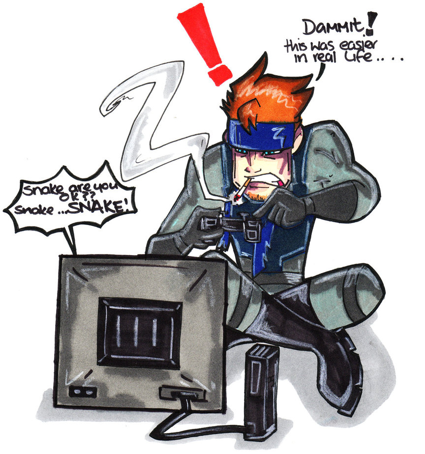 Solid Snake Sucks.......