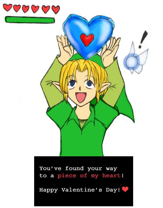 Link Valentine's Day Card