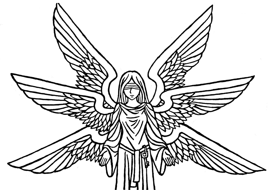 Blind Folded Seraph