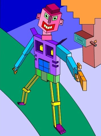 Cube Man