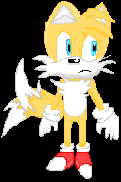 tails pixel art