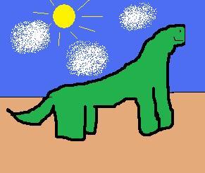 Straight Pimpin Dino