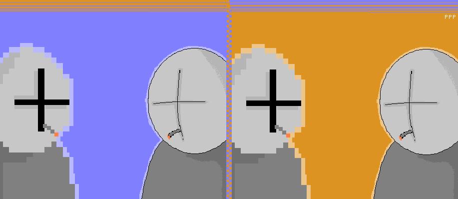 Pixel grunt