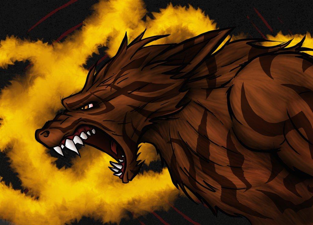 Sentinel Wolf Hero Concept Art
