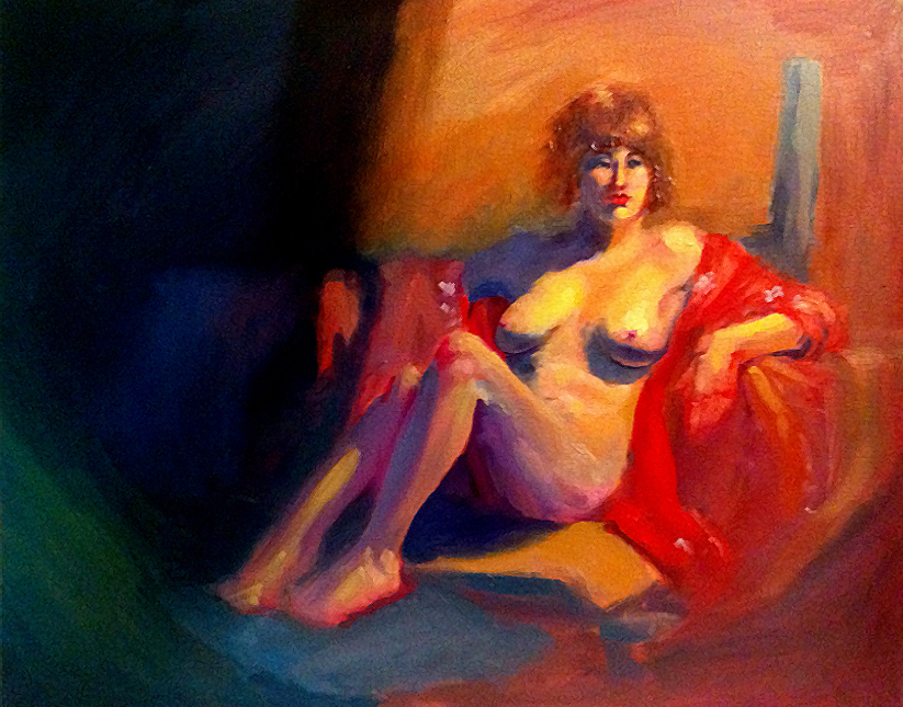 Eye Candy Figure Painting