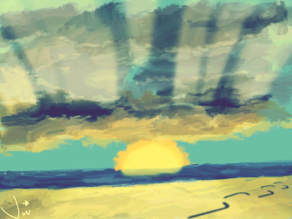 Beach Calmness
