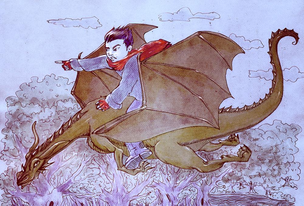 Dragonul fermecat