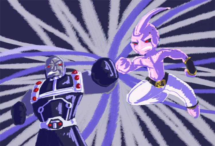 Darkseid vs Buu