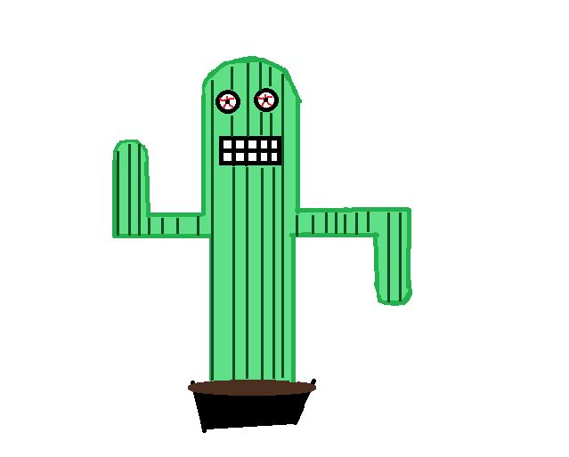 evil cactus