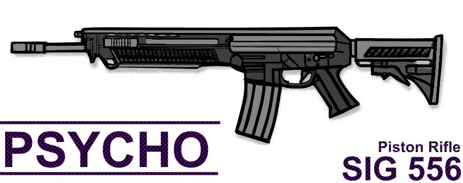 Sig 556 Piston Rifle
