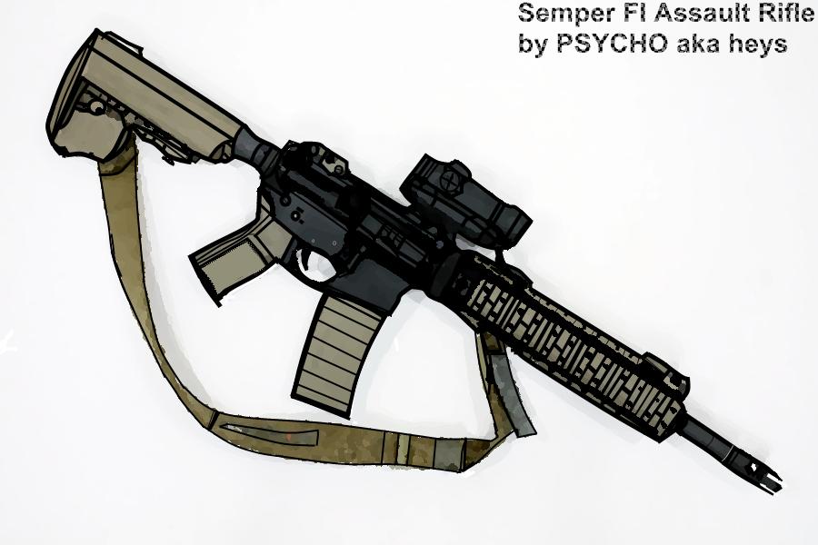 Semper FI Assault Rifle