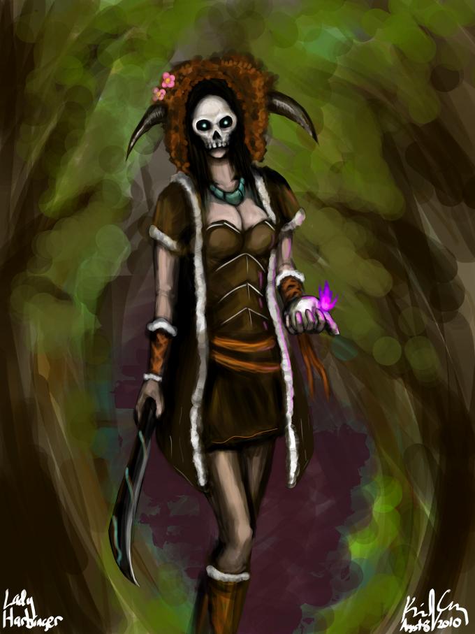 Lady Harbinger