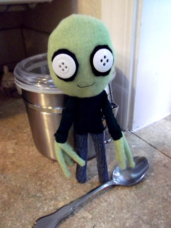 Salad Fingers Plush