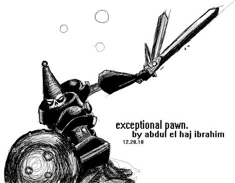 exceptional pawn