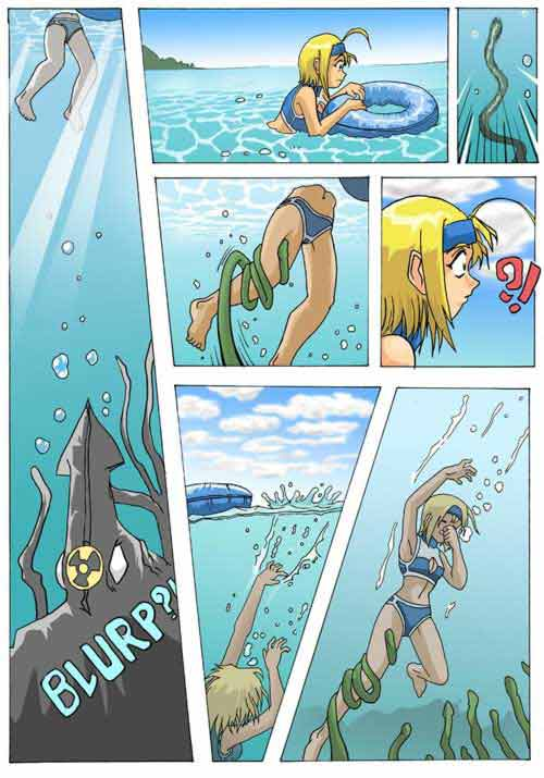Swimming is prohibited Page 03