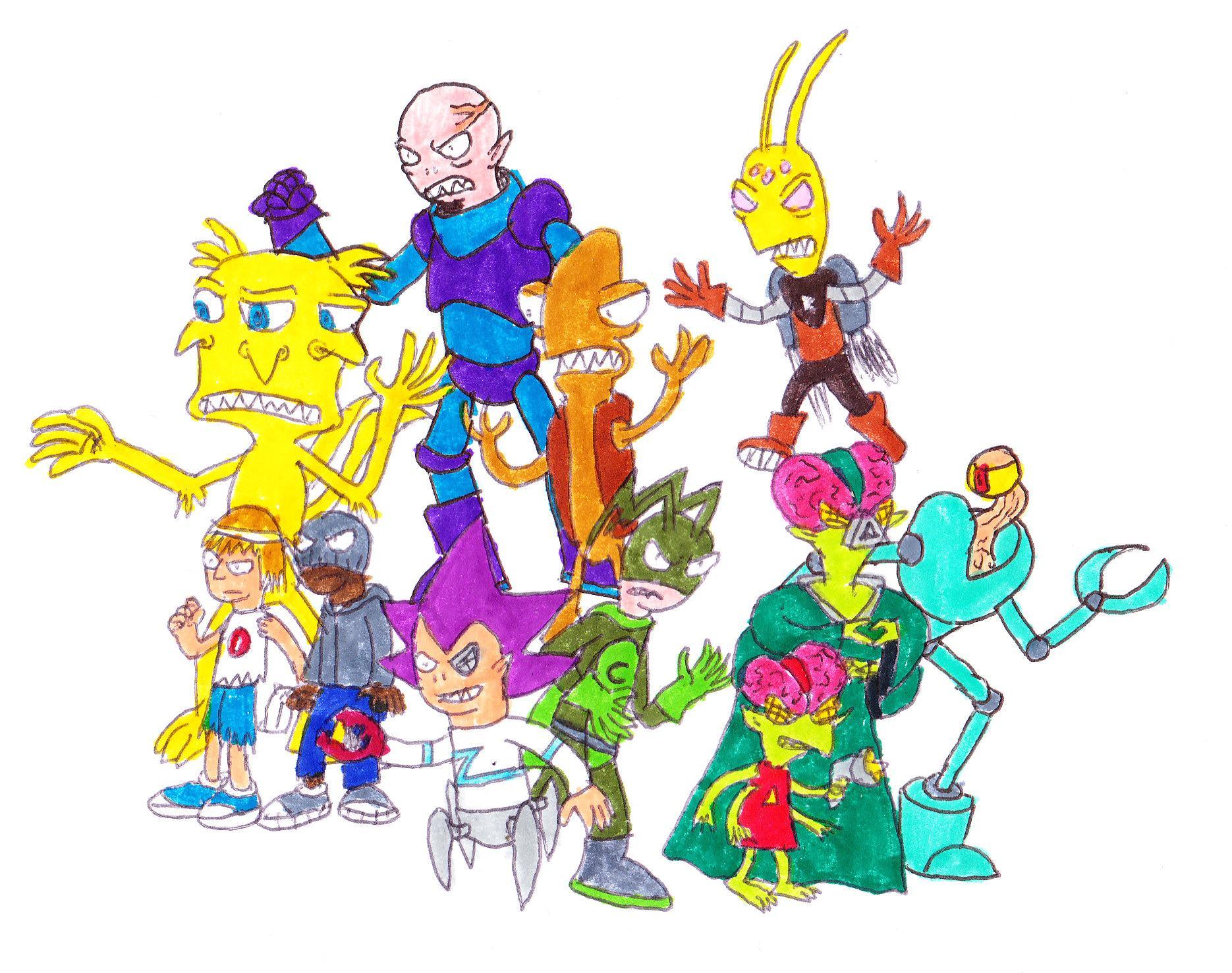 Enemies of the Ant