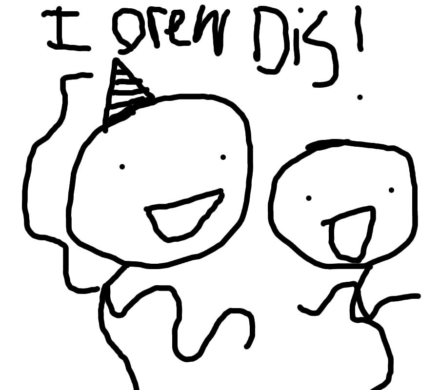 I drew it.