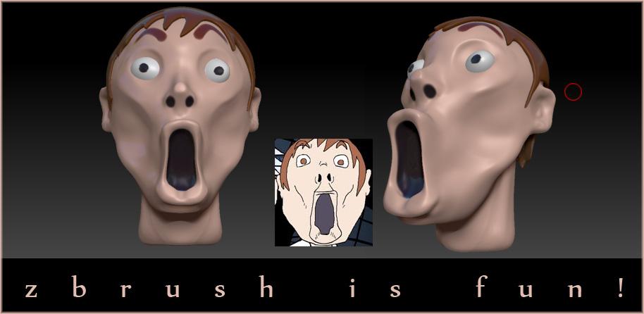 zbrush is fun!