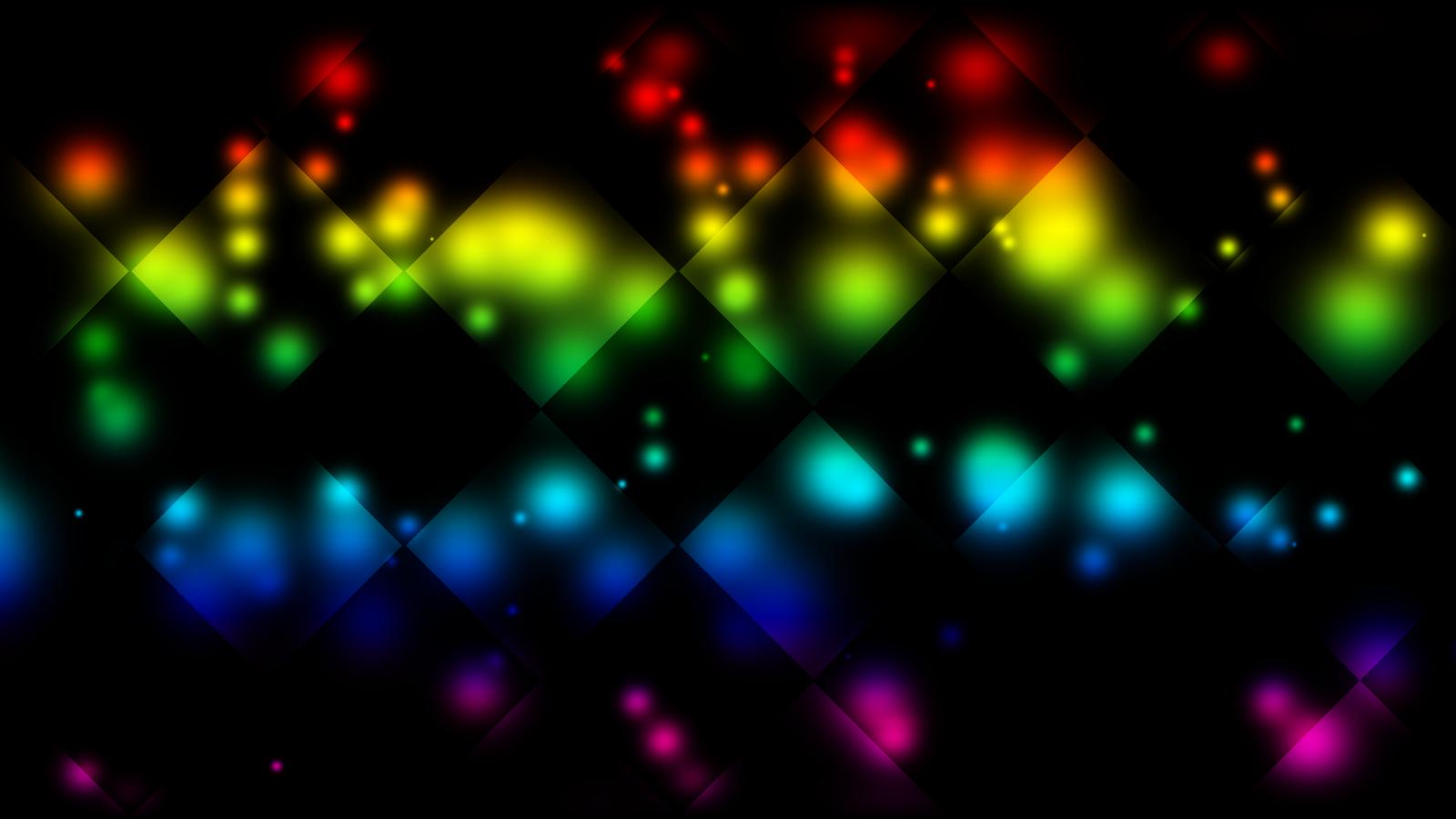Rainbow Checkers Background