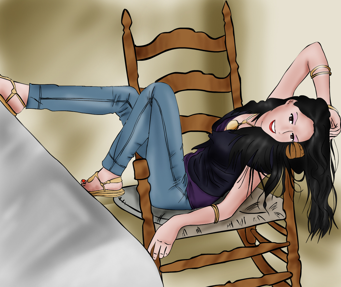 Photo drawing with photoshop 5