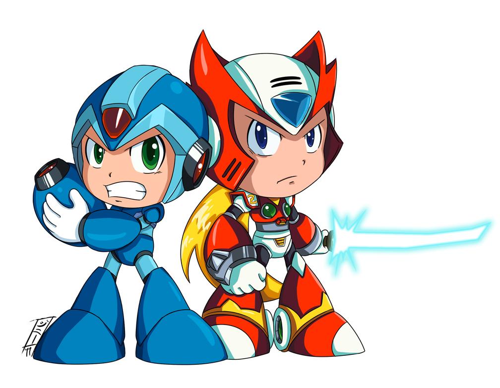 Mega Man X Powered Up
