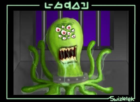 The Slimey Alien