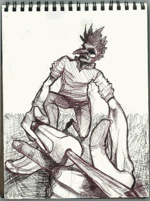CalArts Sketch Book Page 11