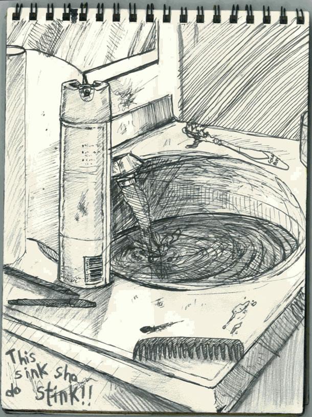 CalArts Sketch Book Page 13