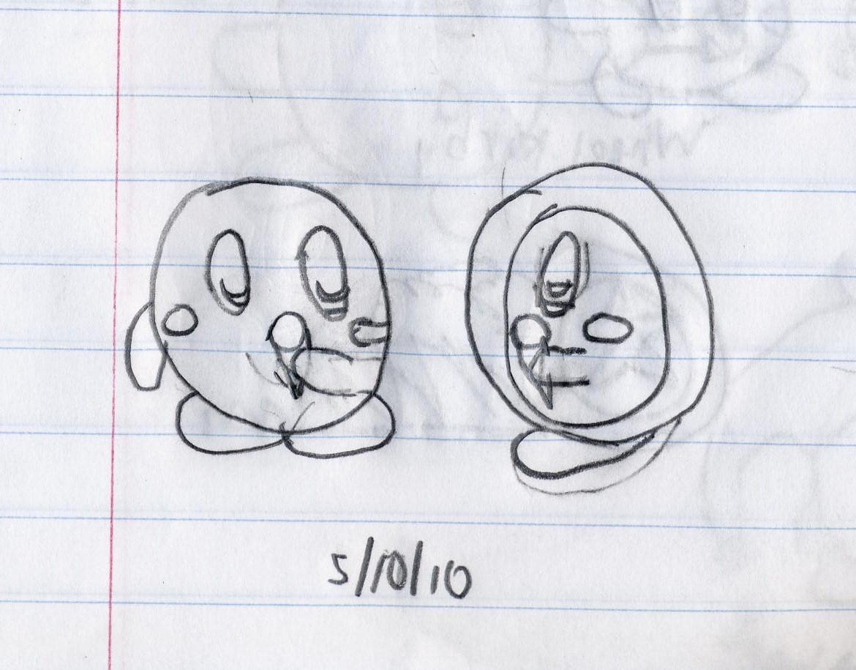 Ice Cream w/ Kirby & Waddle Do