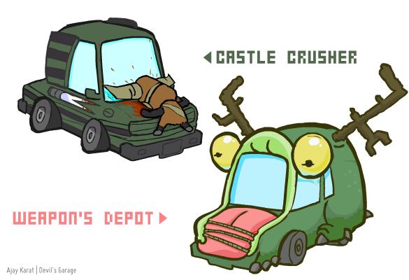 The Behemoth Car Concepts