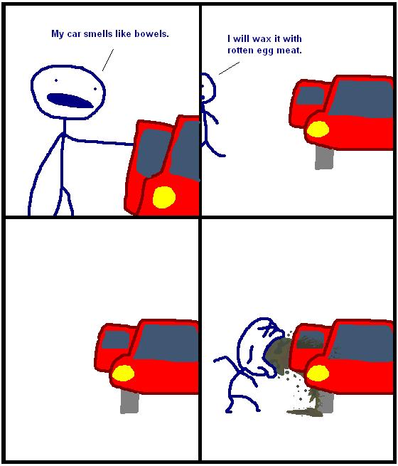 My Car Smells Like Bowels
