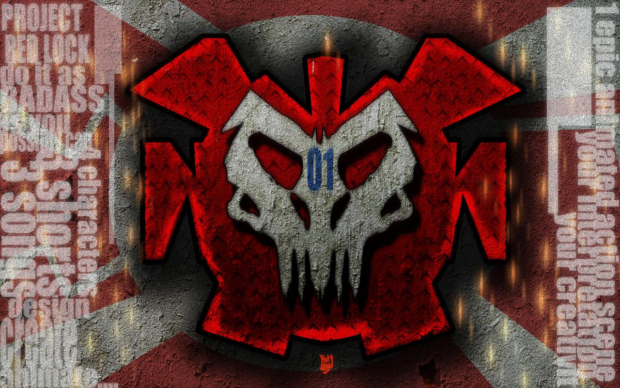 red lock logo