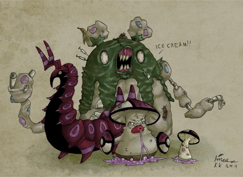 Pokemon fugly generation