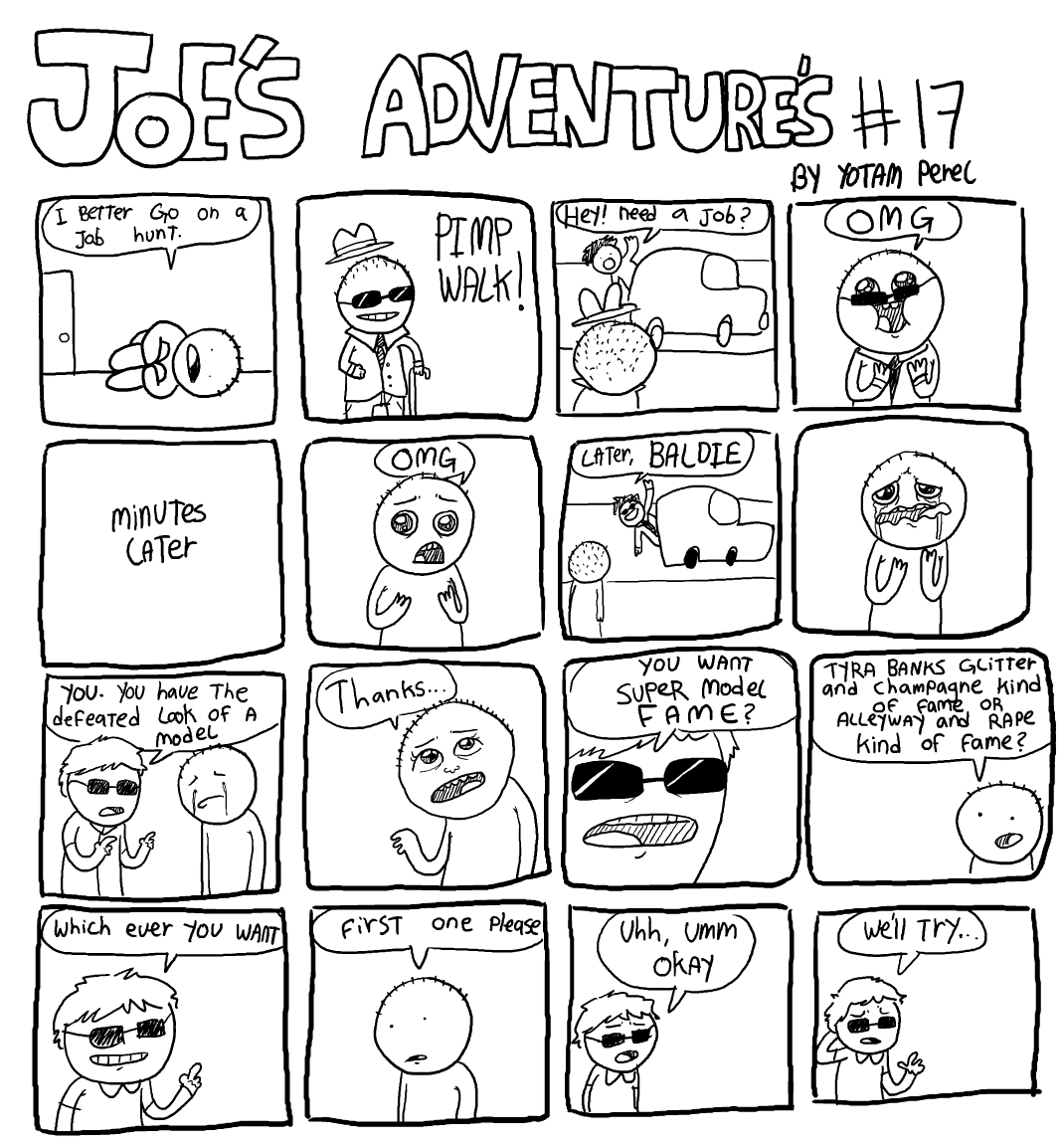 Joe's Adventure's