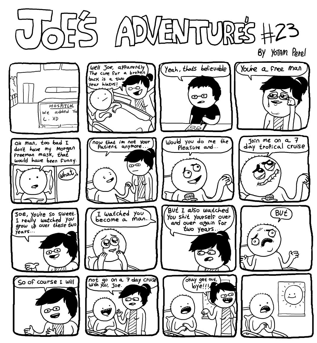 Joe's Adventure's 23