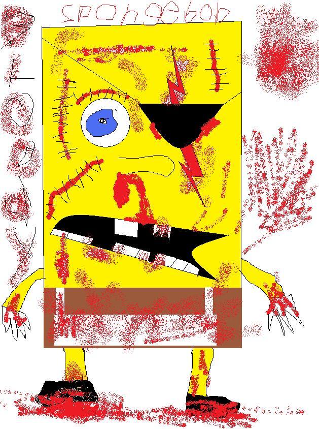 Bloody Spongebob (By Me)