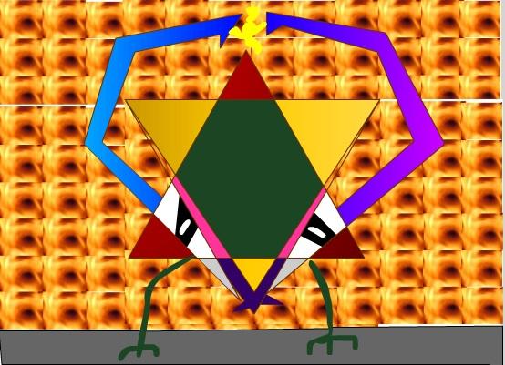 Pentagram monster
