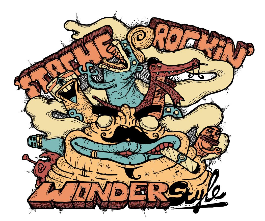 'Stache Rockin' Wonderstyle